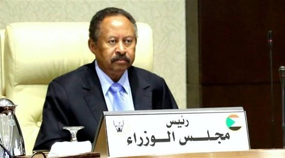 رئيس الوزراء السوداني عبد الله حمدوك (أرشيف)