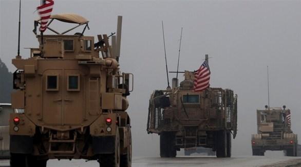 رتل عسكري أمريكي في سوريا (أرشيف)