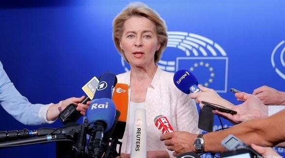 رئيسة المفوضية الأوروبية الجديدة أورسولا فون ديرلاين (أرشيف)