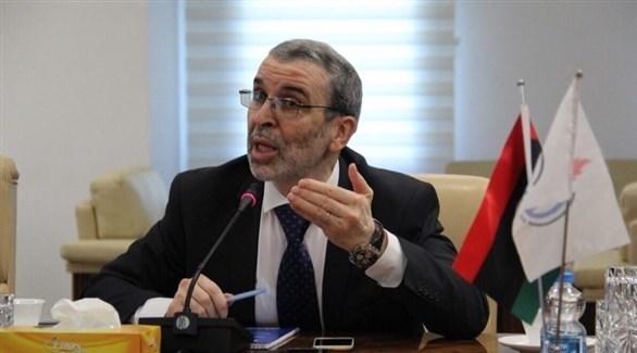 رئيس مجلس إدارة المؤسسة الوطنية الليبية للنفط مصطفى صنع الله (أرشيف)