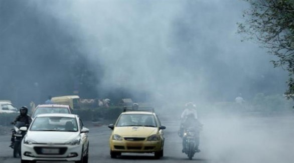 الهواء الملوث يزيد خطر الإصابة بالمياه الزرقاء بنسبة 6 بالمائة (تعبيرية)