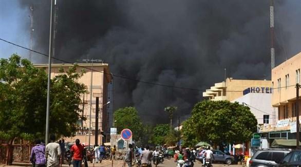 تفجير إرهابي سابق في بوركينا فاسو (أرشيف)