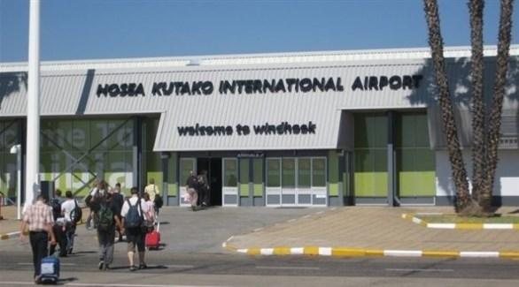 مطار هوسيا كوتاكو في ويندهوك عاصمة ناميبيا (أرشيف)