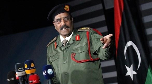 المتحدث باسم الجيش الوطني الليبي اللواء أحمد المسماري (أرشيف)