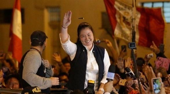 زعيمة المعارضة في البيرو كيكو فوغيموري (أرشيف)