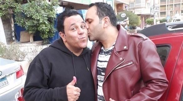 محمد فؤاد مع شقيقه