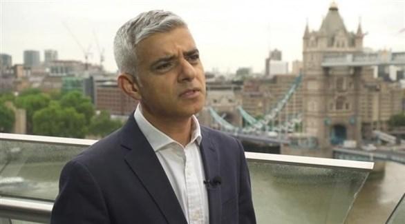 عمدة العاصمة البريطانية لندن صادق خان (أرشيف)