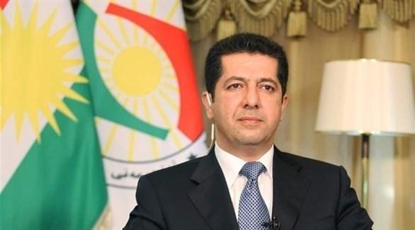 رئيس حكومة إقليم كردستان العراق مسرور بارزاني (أرشيف)