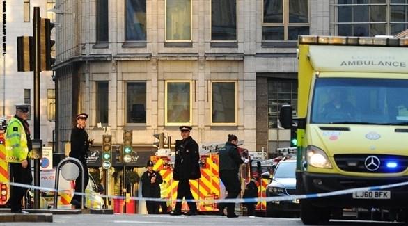 حادث لندن الإرهابي
