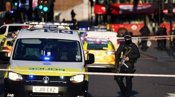 الشرطة البريطانية في موقع الهجوم (أرشيف)