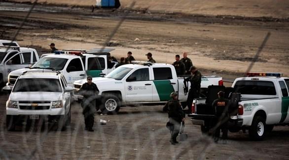 حرس الحدود الأمربكي على الحدود مع المكسيك (أرشيف)