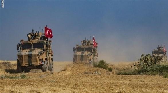 القوات التركية في شمال شرق سوريا (أرشيف)
