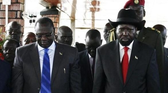 رئيس جنوب السودان سلفا كير وزعيم المتمردين رياك مشار (أرشيف)