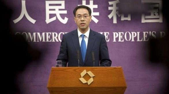 المتحدث باسم وزارة التجارة الصينية جاو فينغ (أرشيف)