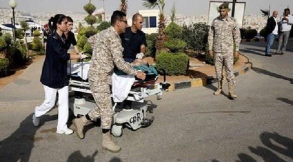 أحد ضحايا حادثة جرش الإرهابية (أرشيف)