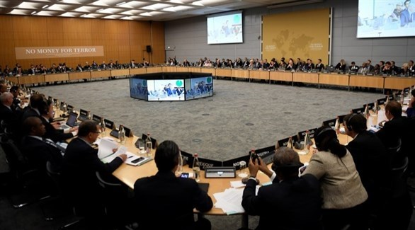 اجتماع سابق للمؤتمر الوزاري لمكافحة تمويل الإرهاب (إ ب ا)