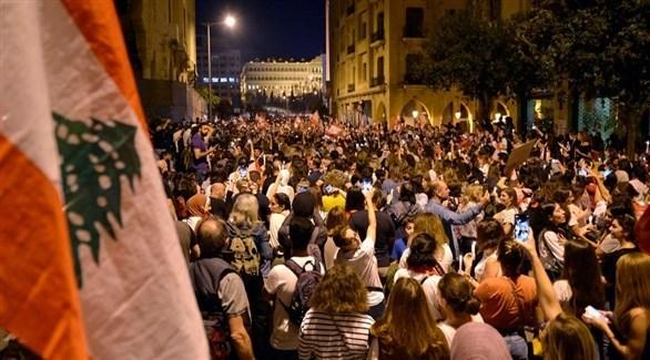 مظاهرات طلابية في لبنان ضد الحكومة (أرشيف)