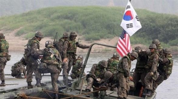 مناورات عسكرية بين أمريكا وكوريا الجنوبية (أرشيف)