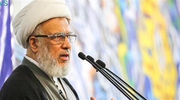 معتمد المرجعية الشيعية في العراق الشيخ عبد المهدي الكربلائي (أرشيف)