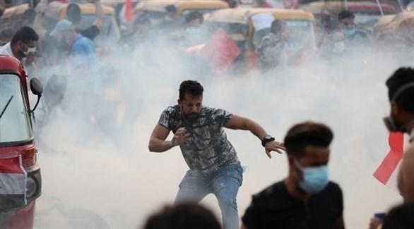 جانب من احتجاجات العراق (أرشيف)
