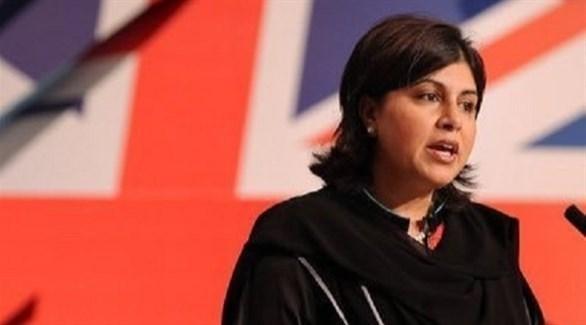 السياسية البريطانية المسلمة سعيدة وارثي (أرشيف)