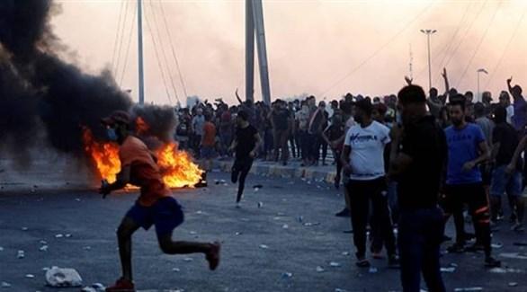 جانب من تظاهرات العراق (أرشيف)