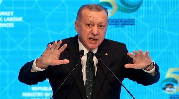 الرئيس التركي رجب طيب أردوغان في اسطنبول (اي بي ايه)