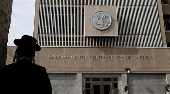 السفارة الأمريكية في إسرائيل (أرشيف)