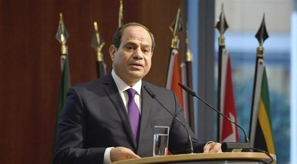 الرئيس المصري عبد الفتاح السيسي (أ ب)