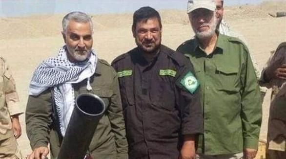 قائد فيلق القدس الإيراني، قاسم سليماني في سوريا (أرشيف)