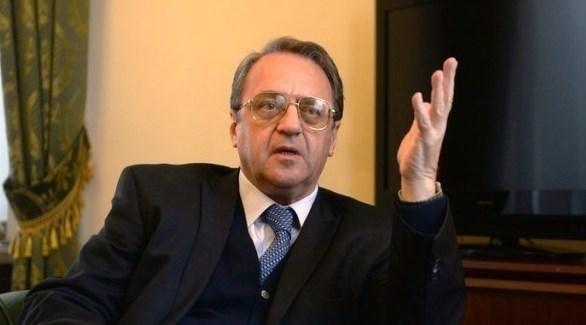 نائب وزير الخارجية الروسية ميخائيل بوغدانوف (أرشيف)