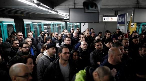 إضراب عام في وسائل النقل بفرنسا (أرشيف)