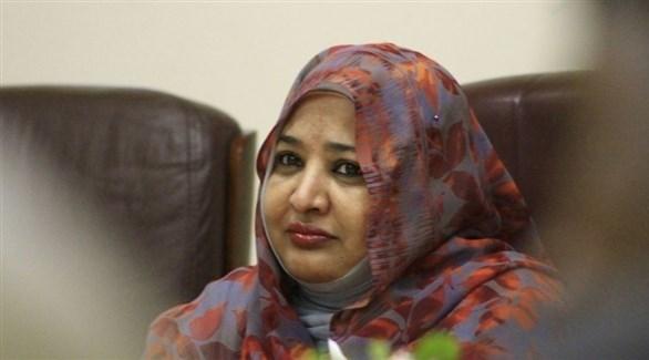 زوجة الرئيس السوداني المعزول، وداد بابكر (أرشيف)