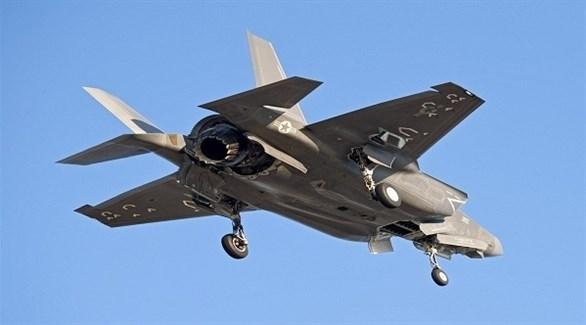 المقاتلة الأمريكية المتطورة إف 35 (أرشيف)