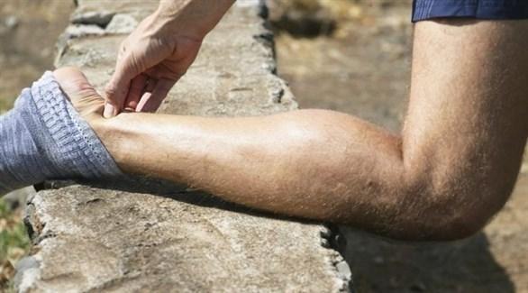 تمارين إطالة العضلات تخفّف الضغط على مفاصل القدم (تعبيرية)