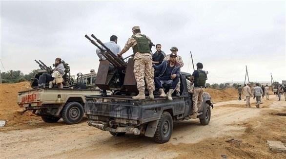 مسلحون في ليبيا (أرشيف)