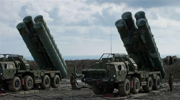 صواريخ إس 400 الدفاعية الروسية (أرشيف)
