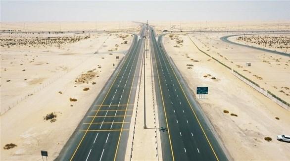 طريق سيح شعيب (أرشيف)