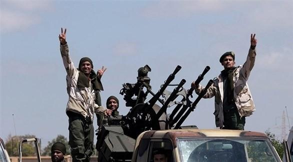 عناصر من الجيش الوطني الليبي (أرشيف)