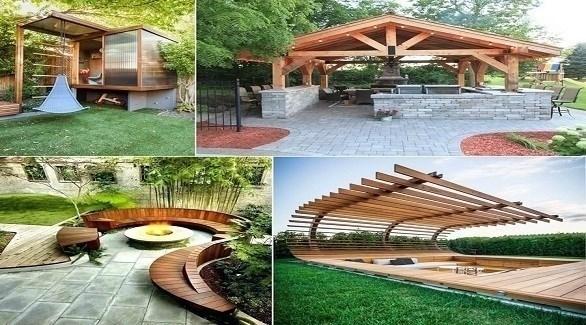 مشاريع لديكور فناء المنزل الخارجي (أميزنغ إنتيرير ديزاين)