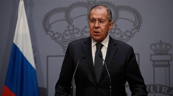 وزير خارجية روسيا سيرغي لافروف (أرشيف)