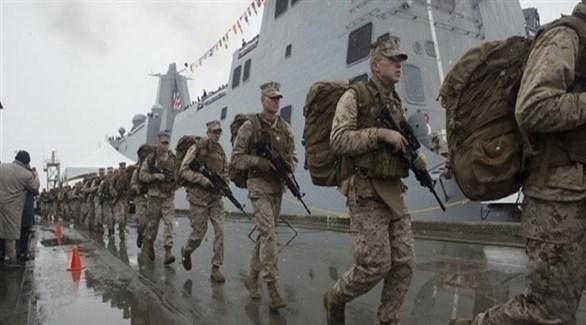 عناصر من مشاة البحرية الأمريكية (أرشيف)