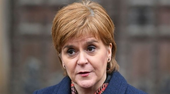 رئيسة وزراء اسكتلندا نيكولا ستيرجن (أرشيف)