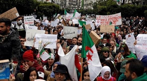 احتجاجات الجزائر (أرشيف)