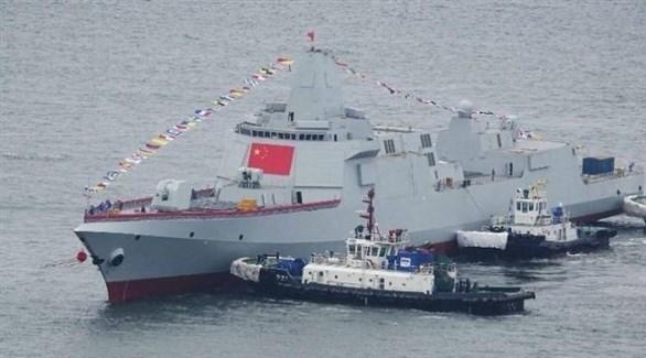 مدمرة بحرية صينية في بحر الصين الجنوبي (أرشيف)