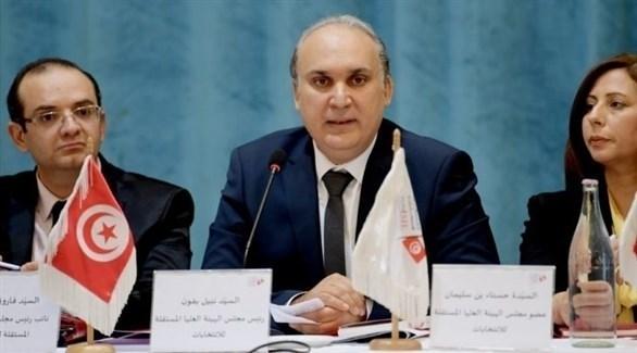 رئيس الهيئة العليا المستقلة للانتخابات في تونس، نبيل بافون (أرشيف)