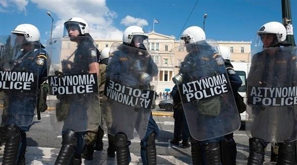 شرطة مكافحة الشغب اليونانية (أرشيف)