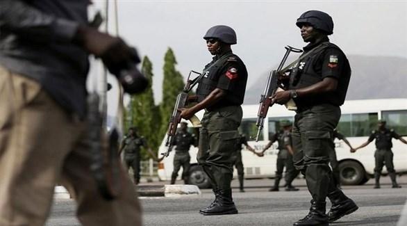 عناصر من الشرطة النيجيرية (أرشيف)