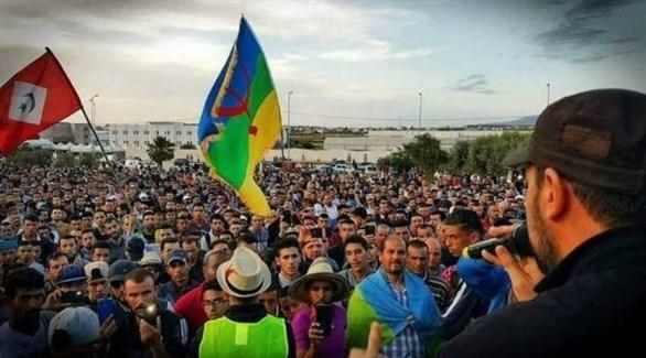 تظاهرة لحراك الريف بالمغرب (أرشيف)