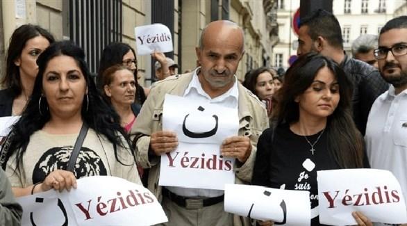 تظاهرة مناصرة لليزيديين (أرشيف)
